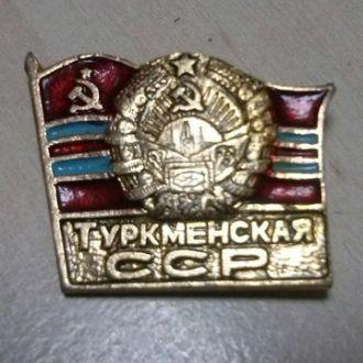 Туркменская ССР. Значок