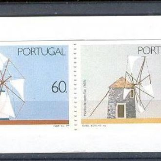 Португалия 1989 мельницы архитектура буклет **
