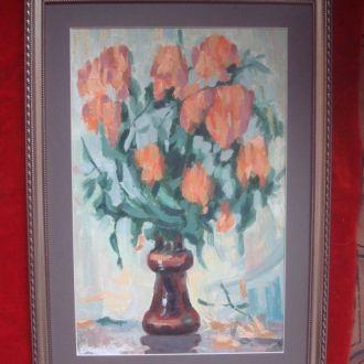 """Картина """"Тюльпаны"""" 54*39"""