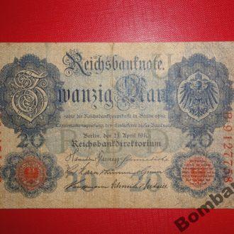 20 марок 1910г