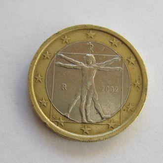 1 евро = 2002 г. = ИТАЛИЯ