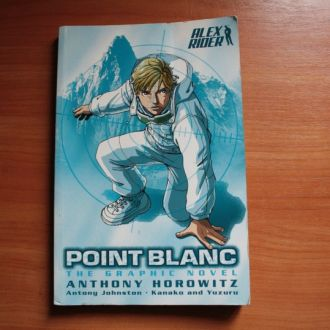 Anthony Horowitz - Alex Rider: Point Blanc комикс
