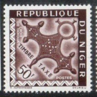 Нигер 1962 Крест религия MNH