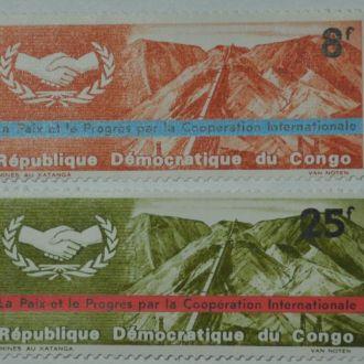 Конго Горы Дамба