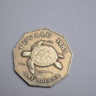Тувалу 1$ 1985 г.