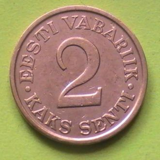 2 Сенти 1934 г Эстония 2 Сенті 1934 р Естонія
