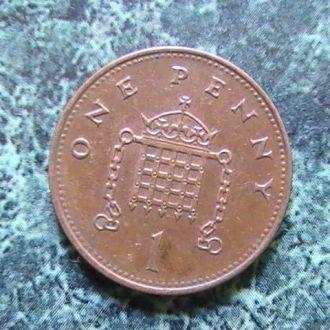 1 Пенни пенс 1996 года Великобритания