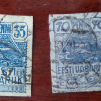 Эстония,старая, по Михель 2,2эвро