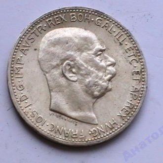 1 Крона 1914 г Австрия Серебро 1 Корона 1914 р