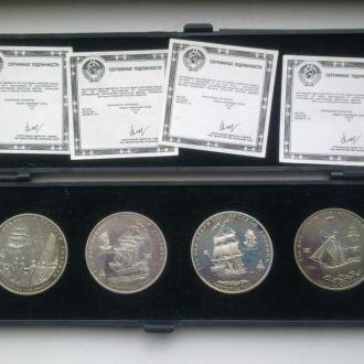настольные медали,флот,250 лет открытия РускойАмер