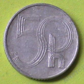 50 Геллеров 1993 г Чехия 50 Гелерів 1993 р Чехія