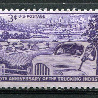 США 1953 Транспорт Автомобильное производство MNH