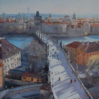 """Картина """"Прага"""" Микитенко В."""