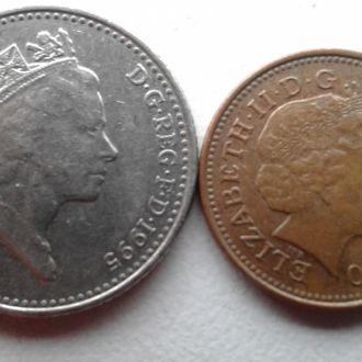 Великобритания 1,10 пенсов