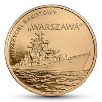 Польша, Ракетный эсминец ВАРШАВА * Warszawa, 2013