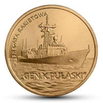 Польша, Ракетный фрегат Генерал Пулаский, 2013 год
