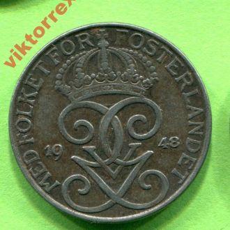 Швеция 5 эре 1948 г