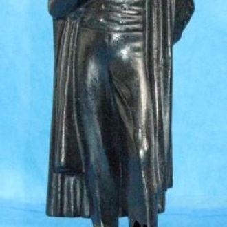 Пушкин, статуэтка чугун, Касли, 1957 Состояние!!!!
