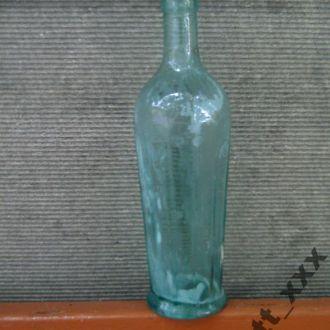 Старое Стекло - рубленное - бутылка .