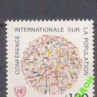 ООН 1984 население люди ** о