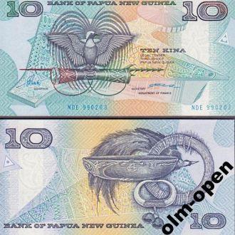 P N Guinea / Папуа Н Гвинея - 10 Kina 1988 UNC OLM