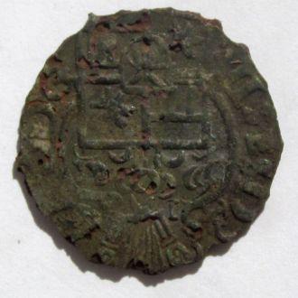 Грошен 1599г Адольф XIII графство Шаумбург,фальшак