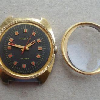 Часы Чайка 2609 Н AU10 №050 СССР Оригинал Рабочие!