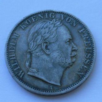 Германия 1 талер 1866 г Победный