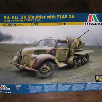 Italeri Sd.Kfz.3b Maultier with Flak 38  1:35
