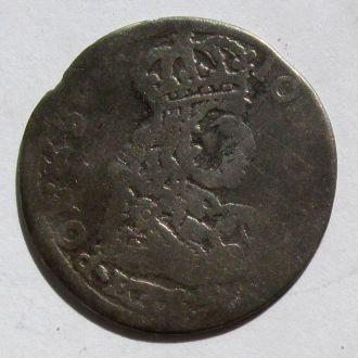 6 грошей Ян Казимир 1662г