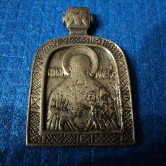 Ладанка,икона, Николай