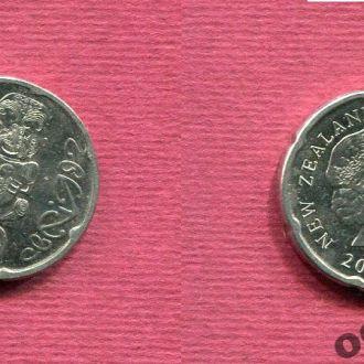 Новая Зеландия 20 центов 2006