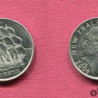 Новая Зеландия 50 центов 2006