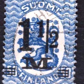Финляндия 1921 не полная гашеные