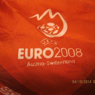 UEFA евро 2008 платок AUSTRIA-SWITZERLAND шарф