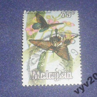 Малайзия-1970 г.-Бабочки