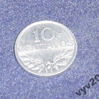 Португалия-1975 г.-10 центаво