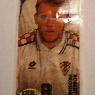 вкладыш наклейка Euro 2000 № 35