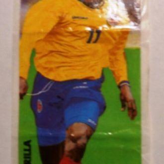 вкладыш наклейка Euro 2000 № 16