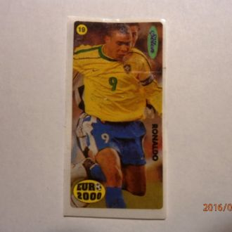 вкладыш наклейка Euro 2000 № 19