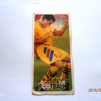 вкладыш наклейка Football 2000 Millenium № 45