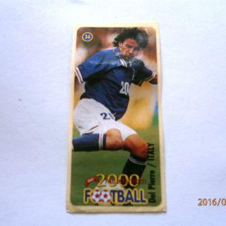 вкладыш наклейка Football 2000 Millenium № 34