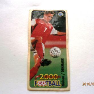 вкладыш наклейка Football 2000 Millenium № 11