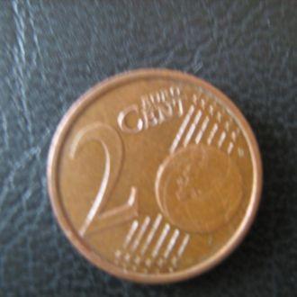 2 евроцентов 2003 г.