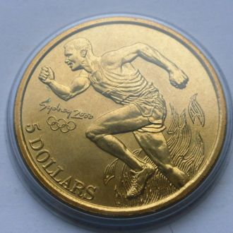 Австралия  5 долларов 2000 г Олимпиада