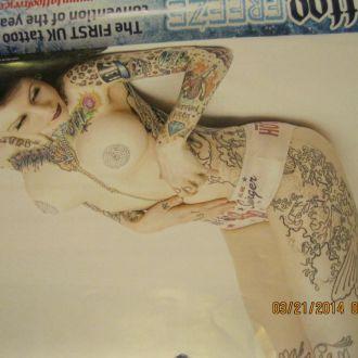 тату календарь на английском языке девушки татуаж