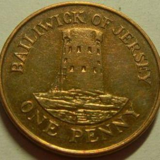 1 пенни 2002 о.Джерси