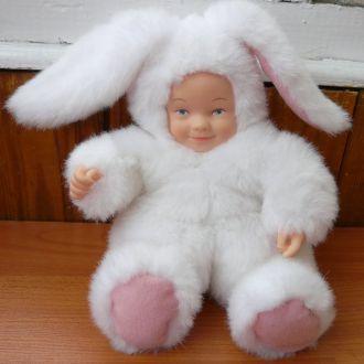 Лялька Кукла Anne Geddes Зайчик 21,5см