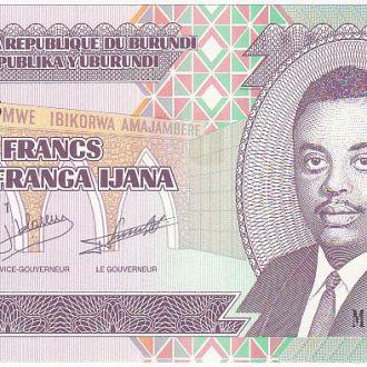 БУРУНДИ 100 франков 2011 года UNC