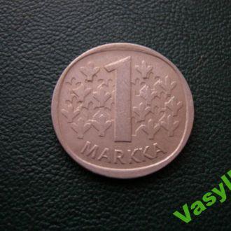Финляндия 1 марка 1983 г. Сохран!
